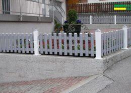 Alu Gartenzaun Wiesing
