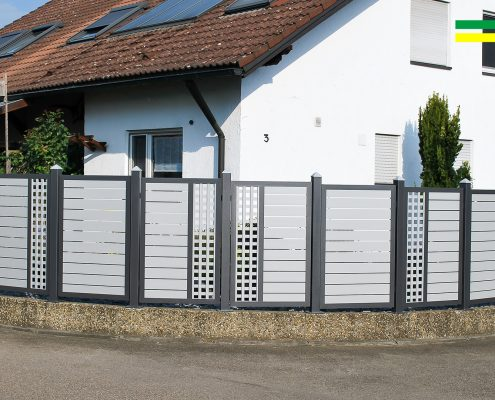 Alu Sichtschutz Bellenberg